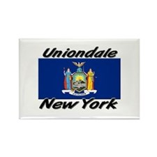 Uniondale New York Rectangle Magnet