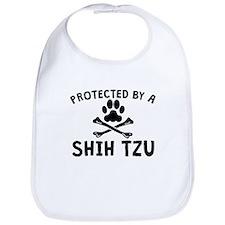 Protected By A Shih Tzu Bib
