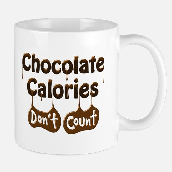 Chocolate Calories Don't Count Mug