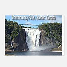 Montmorency Falls at Large Postcards (Package of 8