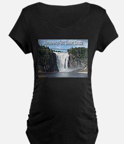 Montmorency Falls at Large T-Shirt