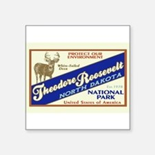 "Funny North cascades national park Square Sticker 3"" x 3"""