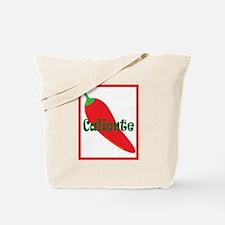 Caliente Red Hot Chili Pepper Tote Bag