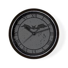 Scribble Bat Wall Clock