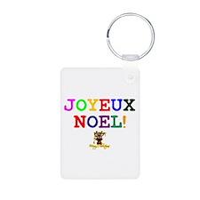 CHRISTMAS - JOYEUX NOEL - REINDEER! - Keychains