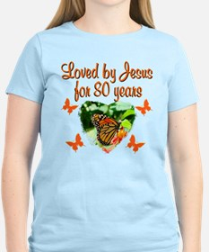 BLESSED 80TH T-Shirt