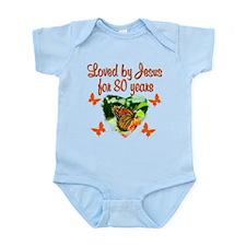 BLESSED 80TH Infant Bodysuit
