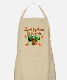 BLESSED 80TH Apron