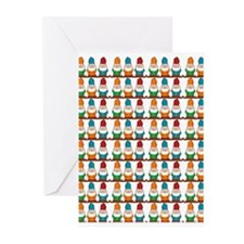 Cute Funny gnomes Greeting Cards (Pk of 10)
