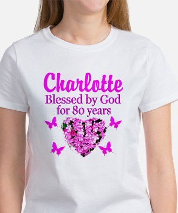 80TH PRAYER Women's T-Shirt
