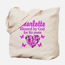 80TH PRAYER Tote Bag