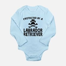 Protected By A Labrador Retriever Body Suit