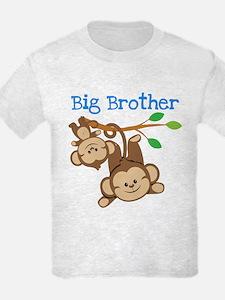 Monkeys Big Bro w. Little Sis T-Shirt