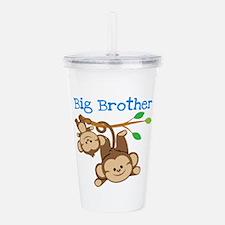 Monkeys Big Bro w. Lit Acrylic Double-wall Tumbler