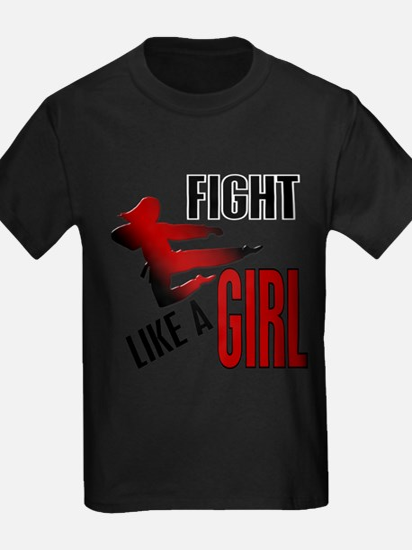 Unique Fight like a girl T