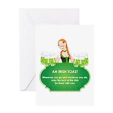AN IRISH TOAST Greeting Card