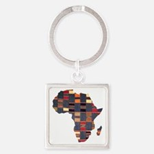 Ethnic African Tapestry Keychains