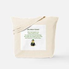 AN IRISH TOAST Tote Bag