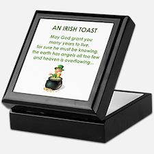 AN IRISH TOAST Keepsake Box