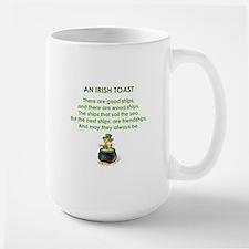 AN IRISH TOAST Mug