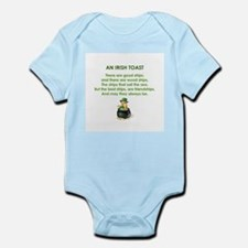 AN IRISH TOAST Infant Bodysuit