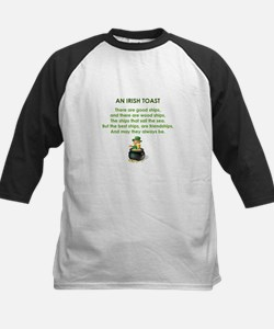 AN IRISH TOAST Kids Baseball Jersey