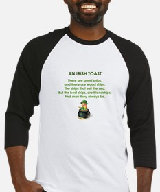 AN IRISH TOAST Baseball Jersey