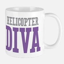 Helicopter DIVA Mugs