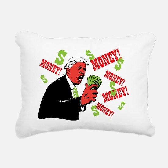 Money Rectangular Canvas Pillow