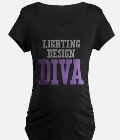 Lighting Design DIVA Maternity T-Shirt