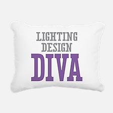 Lighting Design DIVA Rectangular Canvas Pillow
