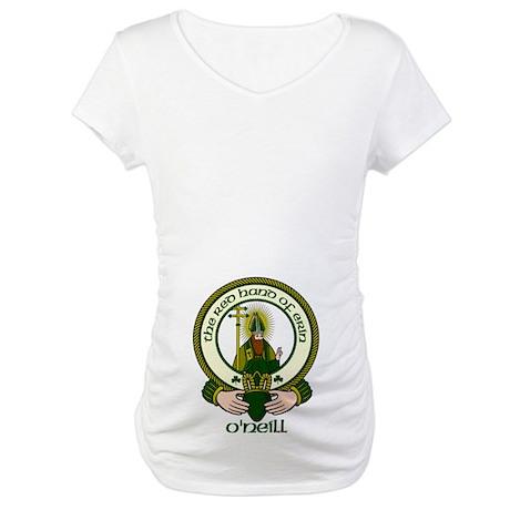 O'Neill Clan Motto Maternity T-Shirt