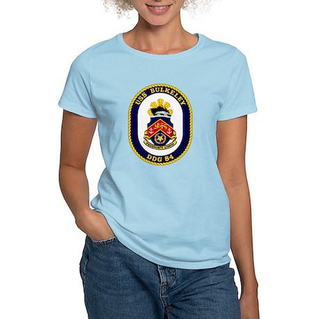 USS Bulkeley DDG 84 Women's Light T-Shirt