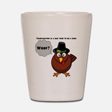 Bad to Be a Bird Shot Glass