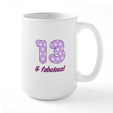 13th Birthday Dots Mug
