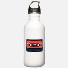 Red Cassette Stainless Water Bottle 1.0l
