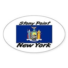 Stony Point New York Oval Decal