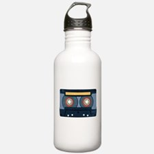 Blue Cassette Stainless Water Bottle 1.0l