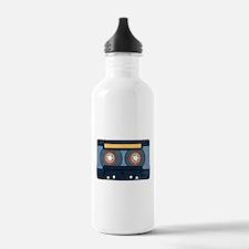 Blue Cassette Water Bottle