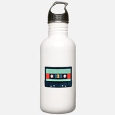 Indigo Cassette Stainless Water Bottle 1.0l