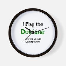 play dulcimer Wall Clock