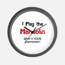 play mandolin Wall Clock
