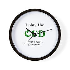 play oud Wall Clock