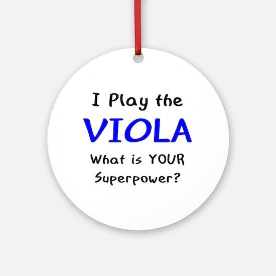 play viola Ornament (Round)