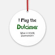 play dulcimer Ornament (Round)
