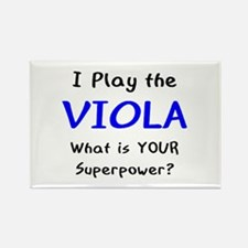 play viola Rectangle Magnet