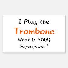 play trombone Decal