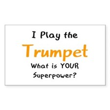 play trumpet Decal