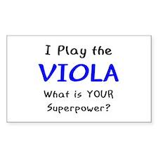 play viola Decal