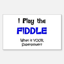 play fiddle Sticker (Rectangle)